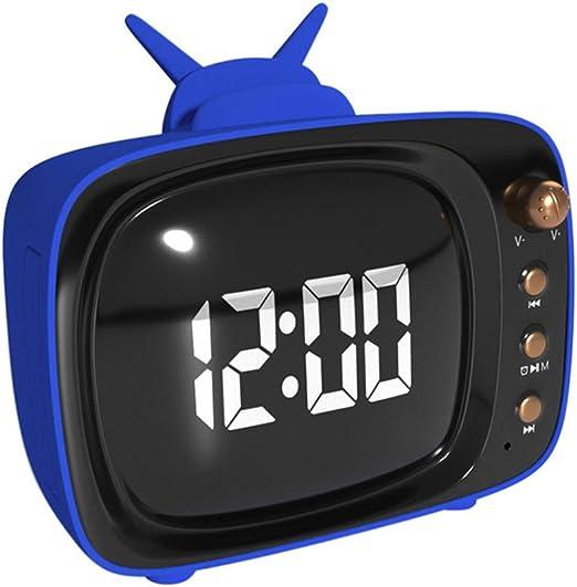 ZFD Reloj Despertador Digital con Radio FM, Puerto USB, BT ...
