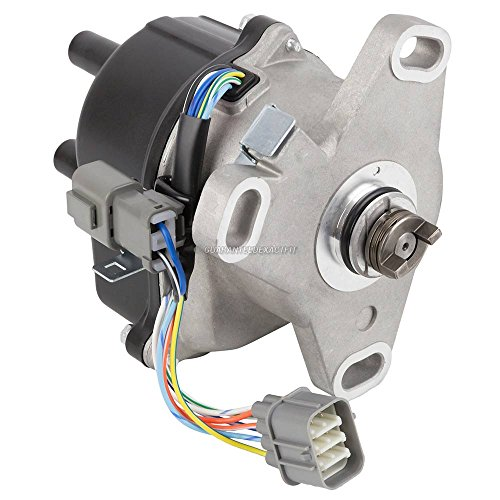 (New Complete Ignition Distributor W/Cap & Rotor For Civic Integra JDM B16A2 - BuyAutoParts 32-00015N New)