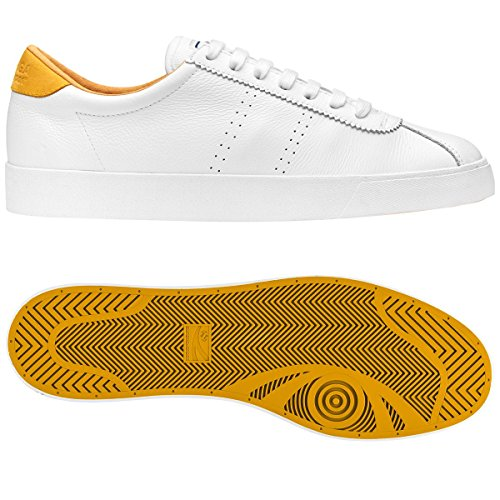 45 UK comfleau 1 29 EU cm Superga 2 10 29 White 45 Sneakers 2843 Orange 07qqx8Ev