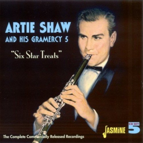 Six Star Treats - The Complete Commercially Released Recordings [ORIGINAL RECORDINGS REMASTERED] 5CD SET by Shaw, Artie & His Gramercy 5