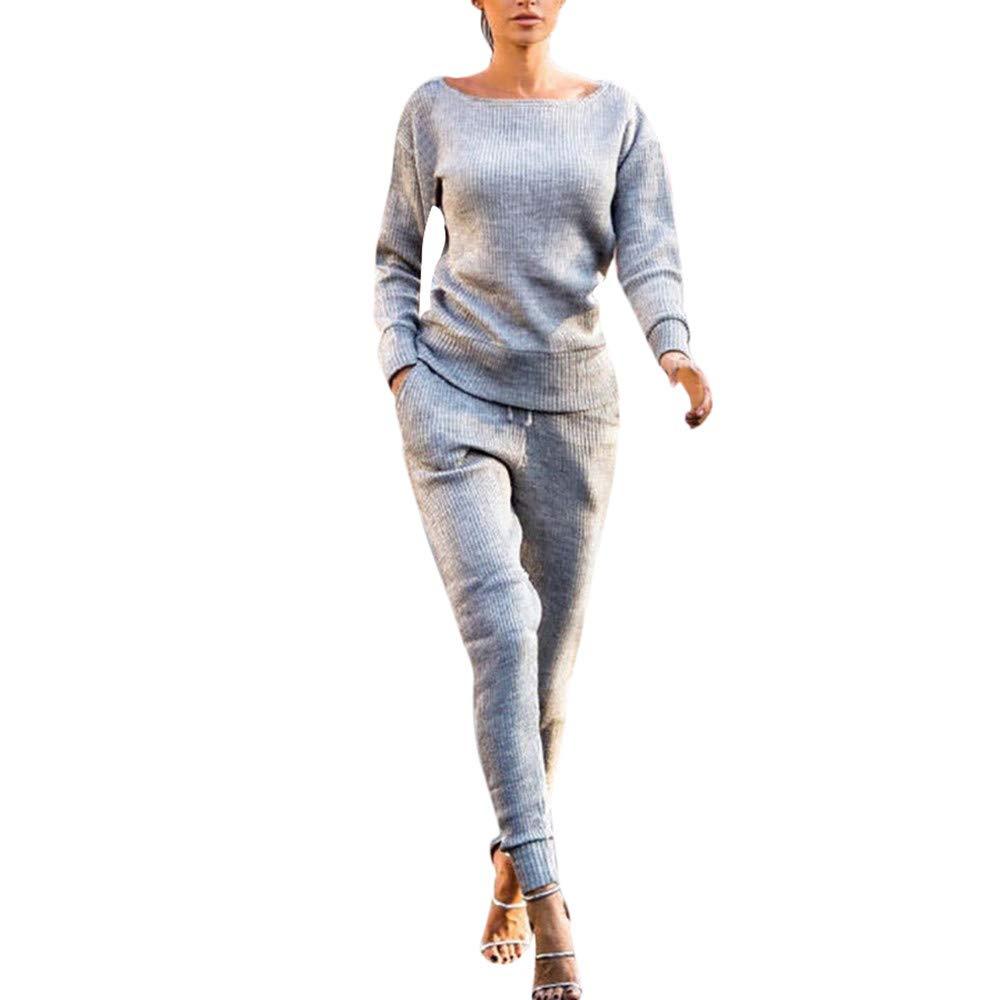 Weant Tuta Con Cappuccio Donna,Kit Inverno Felpa Cappuccio Casual Donna Inverno Tuta Donna Autunno Inverno Elegante Lunga Ragazze Tops Sportive Pantaloni Slim Fit Sportivi 2 Pezzi Casual