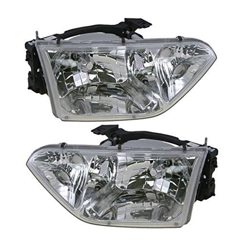 (Headlight Headlamp Pair For Nissan Quest 2001 2002)