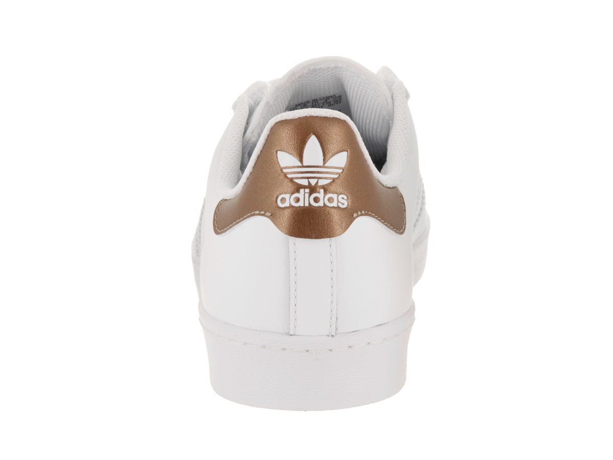 adidas Originals Men's Superstar Vulc Adv Shoes B01LWLBKLL 11.5 M US|Footwear White/Copper Metallic/Footwear White