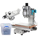 UCONTRO Desktop 1.5KW 5 Axis 3040 CNC Engraving Router Machine Table LCD 110V/220V AC 1500W VFD for Metal Wood...