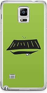 Smiley Samsung Note 4 Transparent Edge Case - Design 12