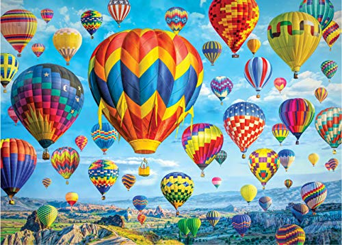 Balloons in Flight 1,000 Piece Jigsaw Puzzle