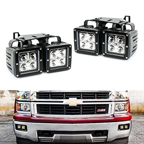 Ijdmtoy Complete 80w High Power Cree Led Fog Light Kit W