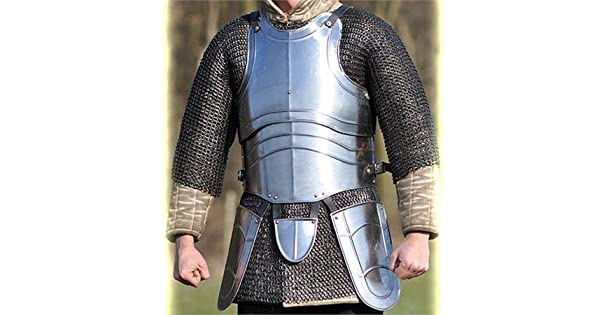 Amazon.com: Jousting Medieval Knight Body Armor: Sports ...