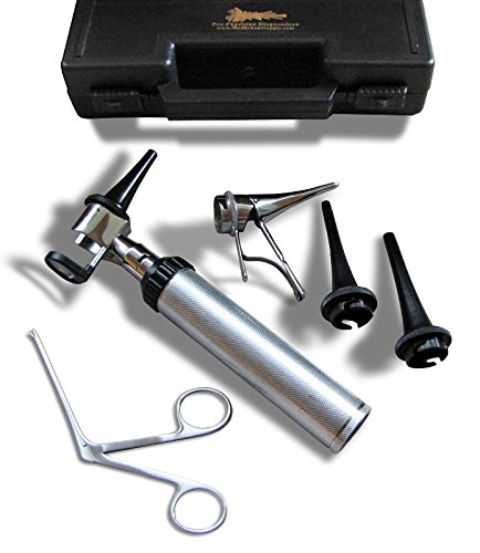 NEW LED Veterinary Operating Otoscope Kit by RA Bock Diagnostics