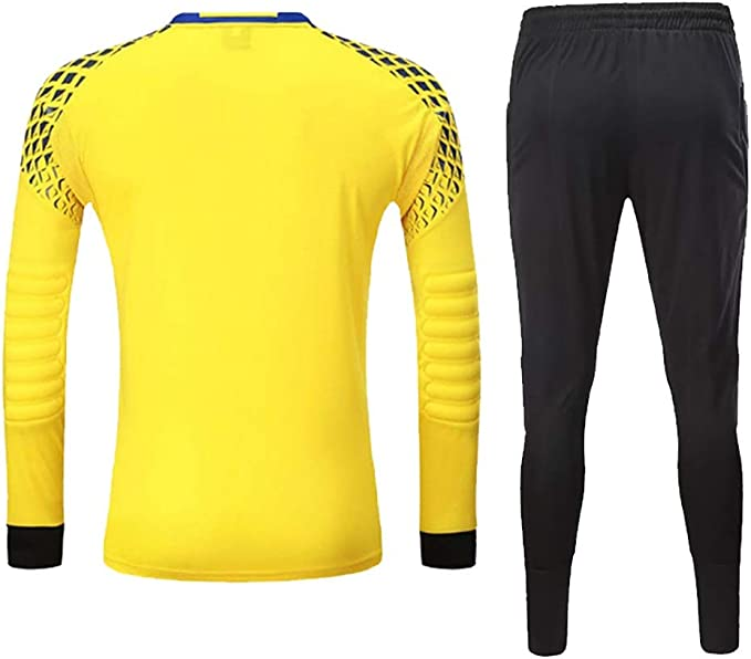 WHSPORT Hombres Fútbol Jersey De Portero Kit De Camisetas De ...