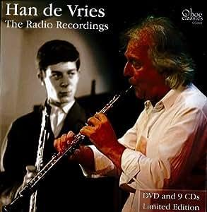 The Radio Recordings (9CD & DVD) Han de Vries, oboe by Han de Vries: The Radio Recordings (Music CD)
