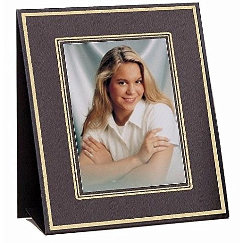 Jerry Easel frames Black/gold border sold in 10s - 4x6 (Easel Tap)
