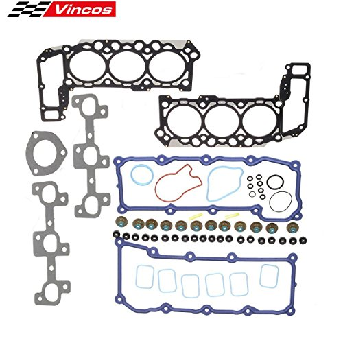Vincos Cylinder Engine Head Gasket Kit Replacement For Dodge/Jeep Grand Cherokee Liberty 3.7L VIN K (Liberty Set)