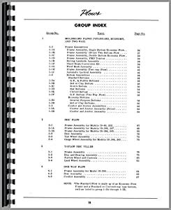 Dearborn 10-231 Plow Parts Manual