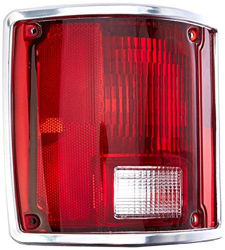 Depo 332-1925L-US1 Chevrolet Driver Side Replacement Taillight Unit (K20 Chevrolet Lens Tail Light)