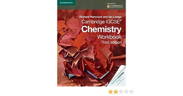 Cambridge IGCSE Chemistry Workbook (Cambridge International IGCSE ...