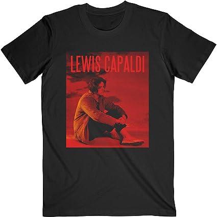 Rock Off Lewis Capaldi Divinely Uninspired Oficial Camiseta para Hombre: Amazon.es: Ropa y accesorios
