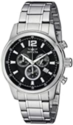 Invicta Men's 0790 II Collection Chronograph Stainless Steel Watch