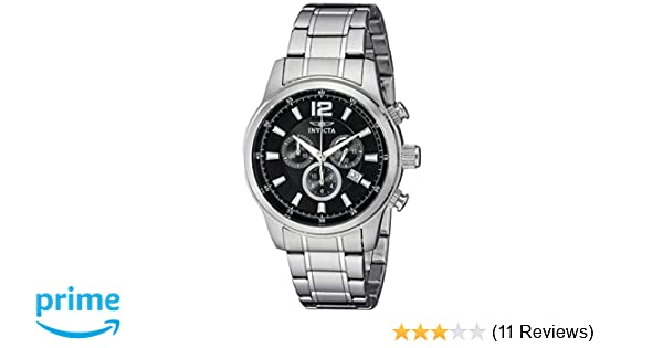 Amazon.com: Invicta Mens 0790 II Collection Chronograph Stainless Steel Watch: Invicta: Watches