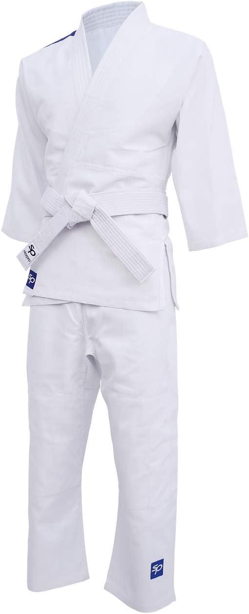 100-170 cm Wei/ß Gi Anzug f/ür Junioren kommt mit G/ürtel Kost/üm gut f/ür Karate Kit MMA Kampfsport Grappling Kimono Kampf Wrestling Jiu Jitsu Taekwondo 250gm Starpro Kinder Judo Uniform Anzug