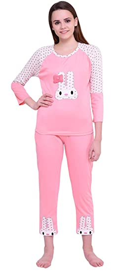 0cf44be92b ICABLE High Quality Women s Cotton Night Suit