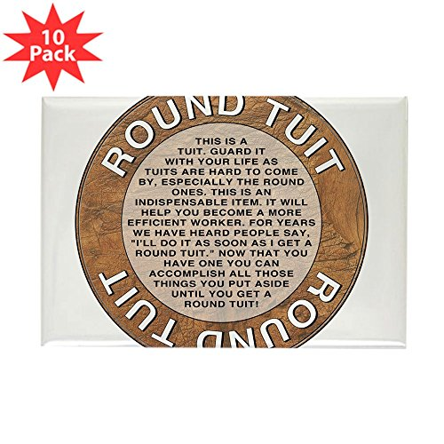 - CafePress - Round Tuit 2.25&Quot; Button Magnets - Rectangle Magnet, 2