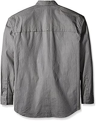 Sean John Men's Big and Tall Long Sleeve Printed Pocket Shirt