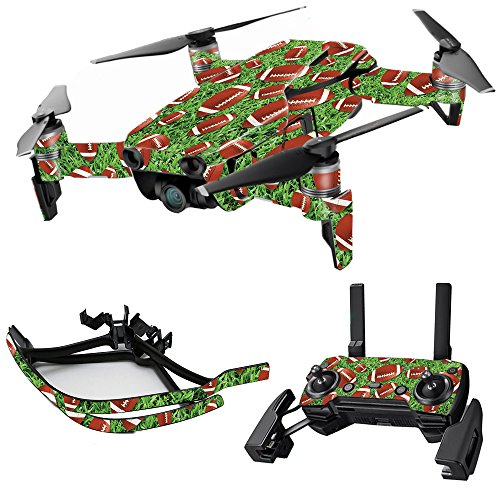 Skin for DJI Mavic Air Drone - Football | Max Combo | MightySkins Protective, Durable, and Unique Vinyl Decal wrap cover | Easy To Apply, Remove, and Change Styles | Made in the (Nfl Combo Kitchen)