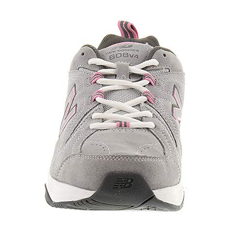 New Balance Women's 608v4 Suede,Grey/Pink,US 6.5 2A by New Balance (Image #4)