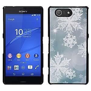 Keep On Mantener Verde Azul motivación- Metal de aluminio y de plástico duro Caja del teléfono - Negro - Sony Xperia Z4v / Sony Xperia Z4 / E6508
