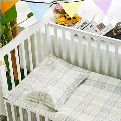 Oasis Hemp Sheet Pillowcase Sets Baby Summer Sleeping Mat Sheets Pack Of 2, 1 Sheet And 1 Pillow Towel for Kindergarten Or Home - (LJT 7402-JWTD) by LZ&Oasis (Image #3)