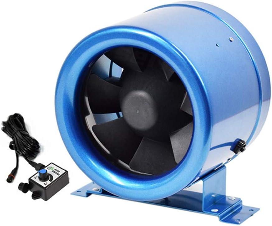 H Industrielle Gewerbliche Abluftventilator 150 Badezimmer-Zubeh/ör Abluftventilator Rohrtyp 150 125mm Stumm L/üftungsventilator Gro/ßes Luftvolumen 594m3