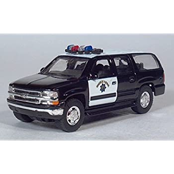 amazon com 2001 chevy suburban highway patrol police pull back Chevy Suburban Toy eBay 2001 chevy suburban highway patrol police pull back toy car