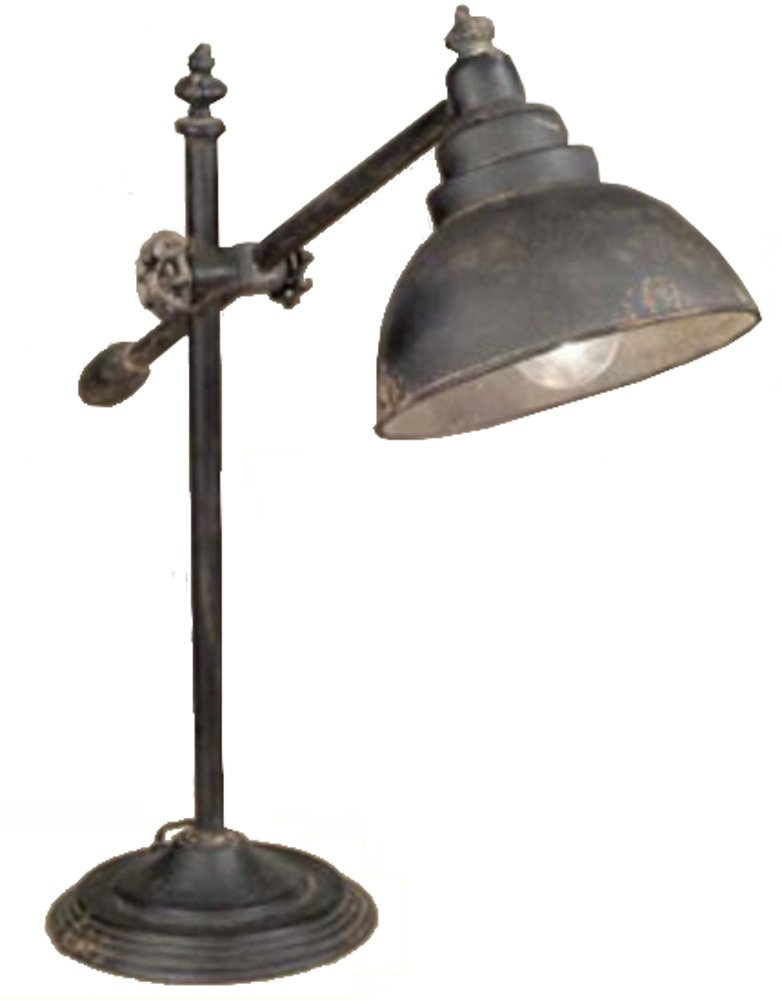 Vintage Adjustable Swing-Arm Task Lamp by Colonial Tin Works
