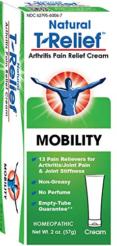 T-Relief Arthritis Ointment Homeopathic Formula with Arnica - Pain Relief Cream for Minor Arthritis Pain and Joint Stiffness - 2 Ounce ()
