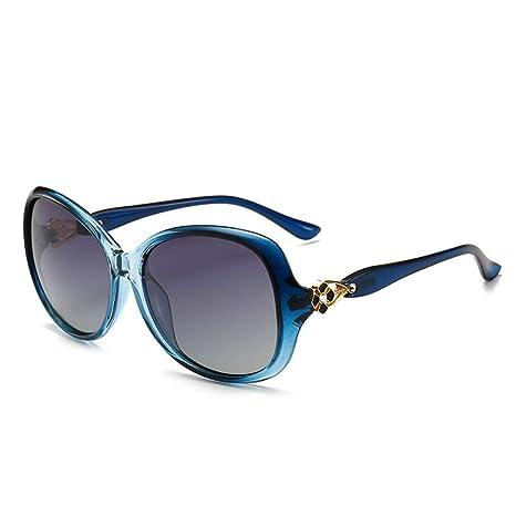 Yangjing-hl Gafas de Sol de Moda para Mujer con Gafas de Sol ...