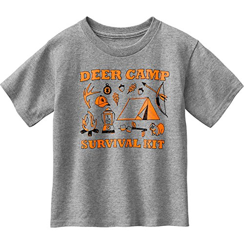 Legendary Whitetails Toddler Spunky Hunter Deer Camp Shirt Athletic Heather 2T -