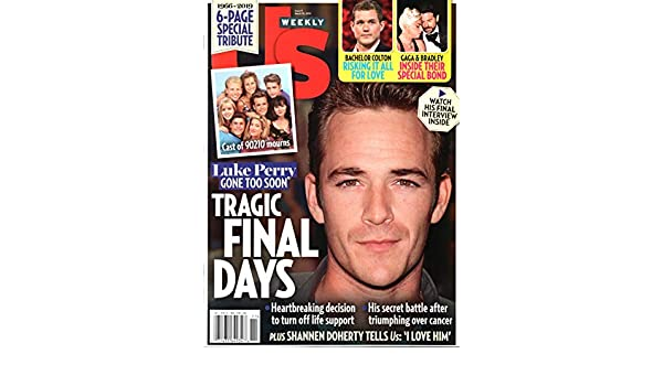US Weekly Magazine March 18 2019 Luke Perry Beverly Hills