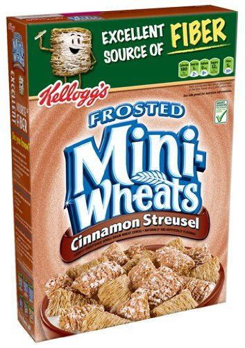UPC 038000576263, Kellogg's Frosted Mini Wheats Bite Size Cinnamon Streusel 15.5-ounce (Pack of 4)