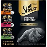 SHEBA PERFECT PORTIONS Soft Wet Cat Food Cuts in