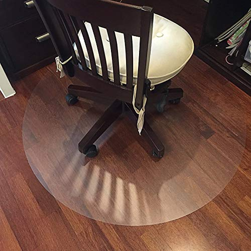Round Matte Table Top Protector Large Soft Glass Wood