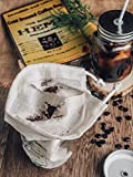 Reusable Cold Brew Coffee Filter bags by P&F