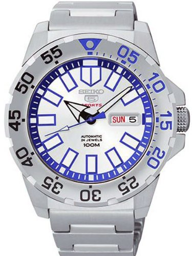 Seiko-5-Sports-Silver-Watch-SRP481K1