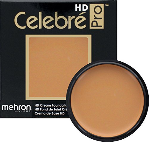 Mehron Makeup Celebre Pro-HD Cream Face & Body Makeup (.9 Ounce) (MEDIUM 2) ()