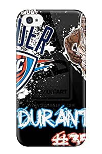Flexible Tpu Back Case Cover For Iphone 4/4s - Kevin Durant By Cfmurray41 D3ba8ef