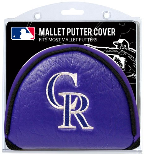 Team Golf MLB Colorado Rockies Golf Club Mallet Putter Headcover, Fits Most Mallet Putters, Scotty Cameron, Daddy Long Legs, Taylormade, Odyssey, Titleist, Ping, Callaway ()