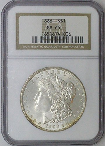 1886 P Morgan $1 MS64 NGC MS