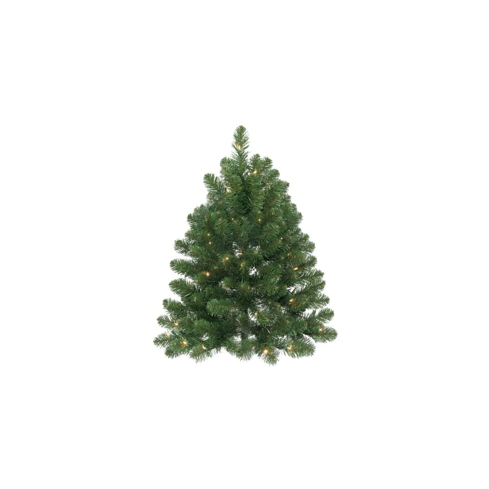 Pack of 2 Pre Lit 3 Oregon Fir Christmas Wall Trees   50 Clear Lights
