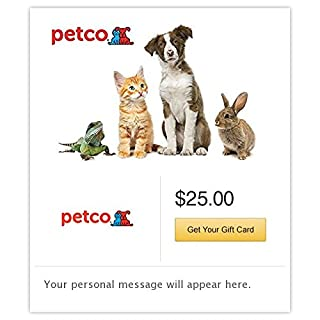 Petco Gift Cards - E-mail Delivery (B00MV9F2QU) | Amazon price tracker / tracking, Amazon price history charts, Amazon price watches, Amazon price drop alerts