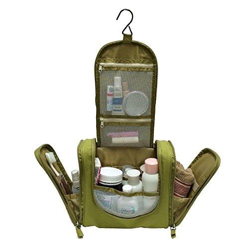 Generic A10-CODE-3566-CLASS-8-- Organizer NEW NEW Shaving Kit aving Travel Portable Hanging eup Cos Toiletry Makeup Hangi Cosemetic Bag Portab --NV_1008003566-CXL-US10 by Generic